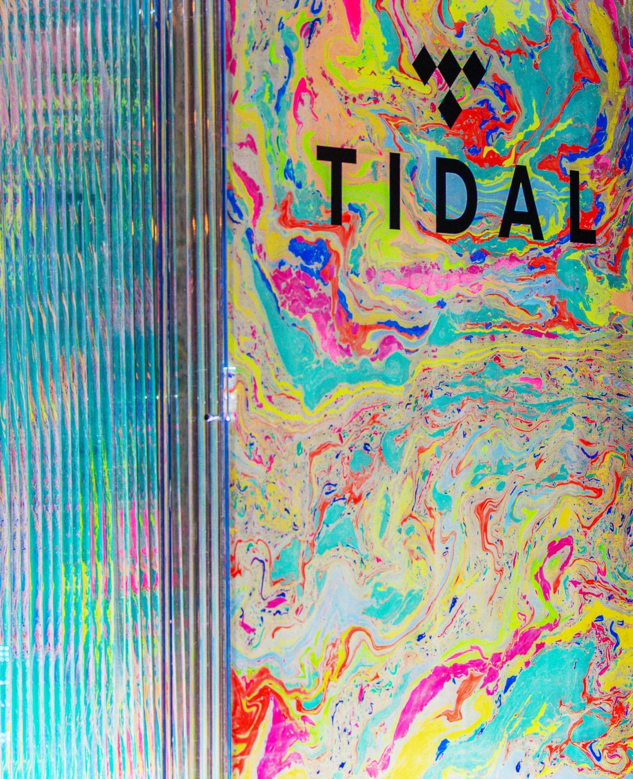 tidal background