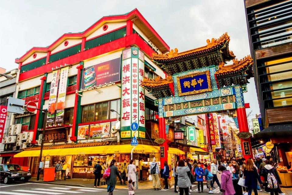 China Town di Yokohama