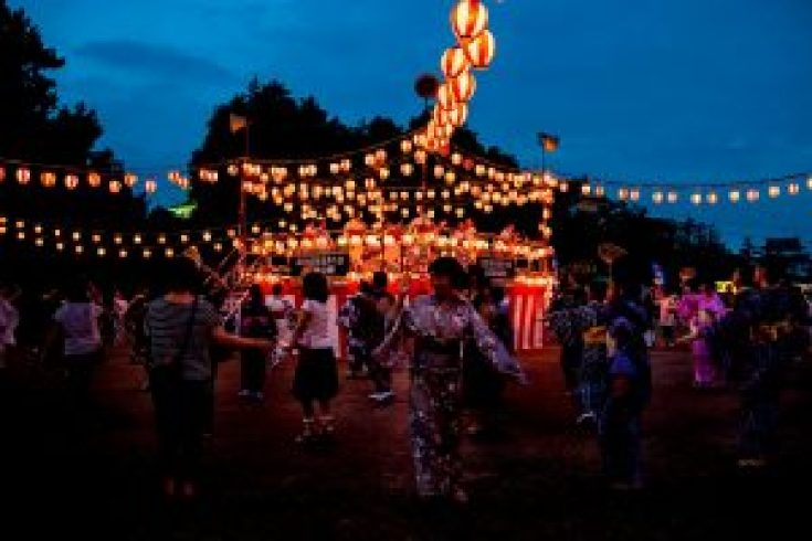 Festival musim panas di Jepang