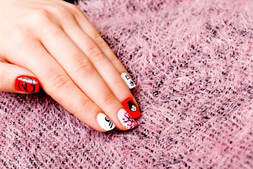 Japanese cute nail art