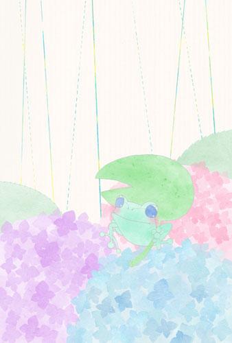illustration-kaeru