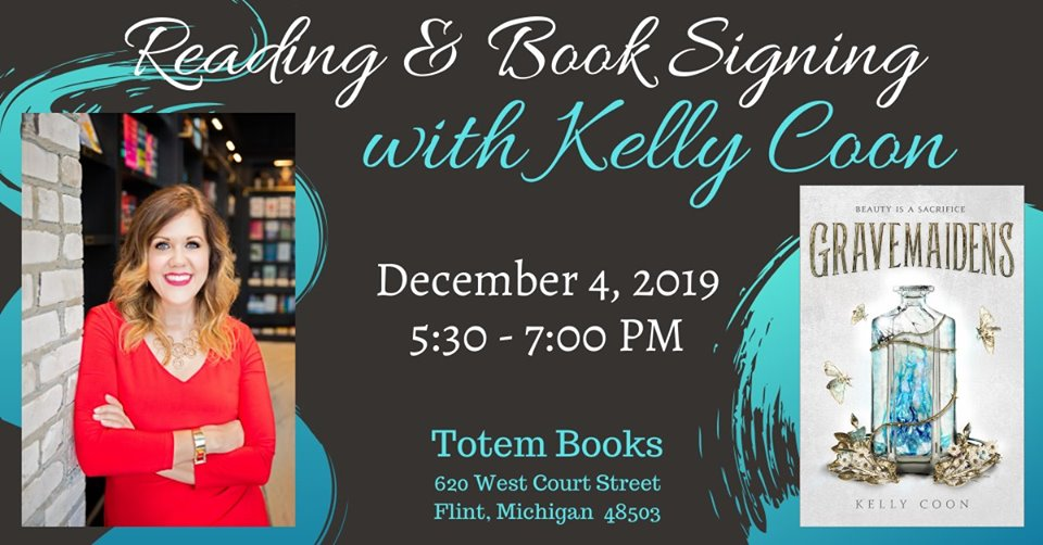 Kelly Coon Totem Books Banner