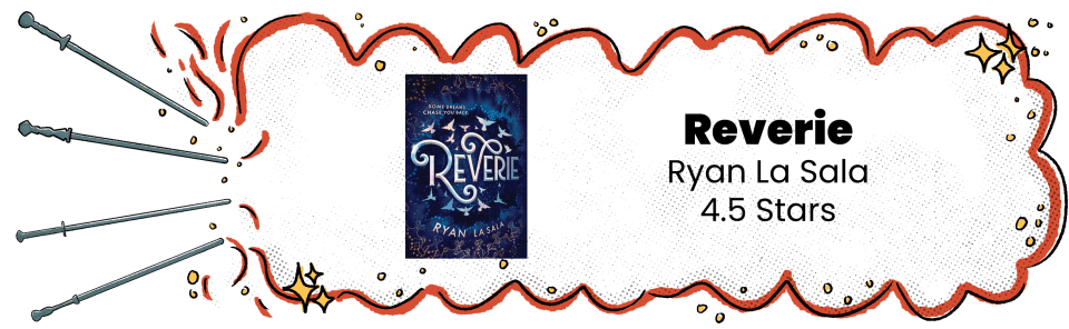 Reverie Review Banner with 4.5 Star Rating