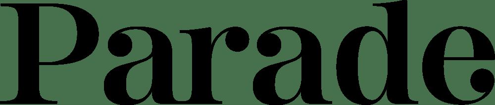 parade magazine logo in black