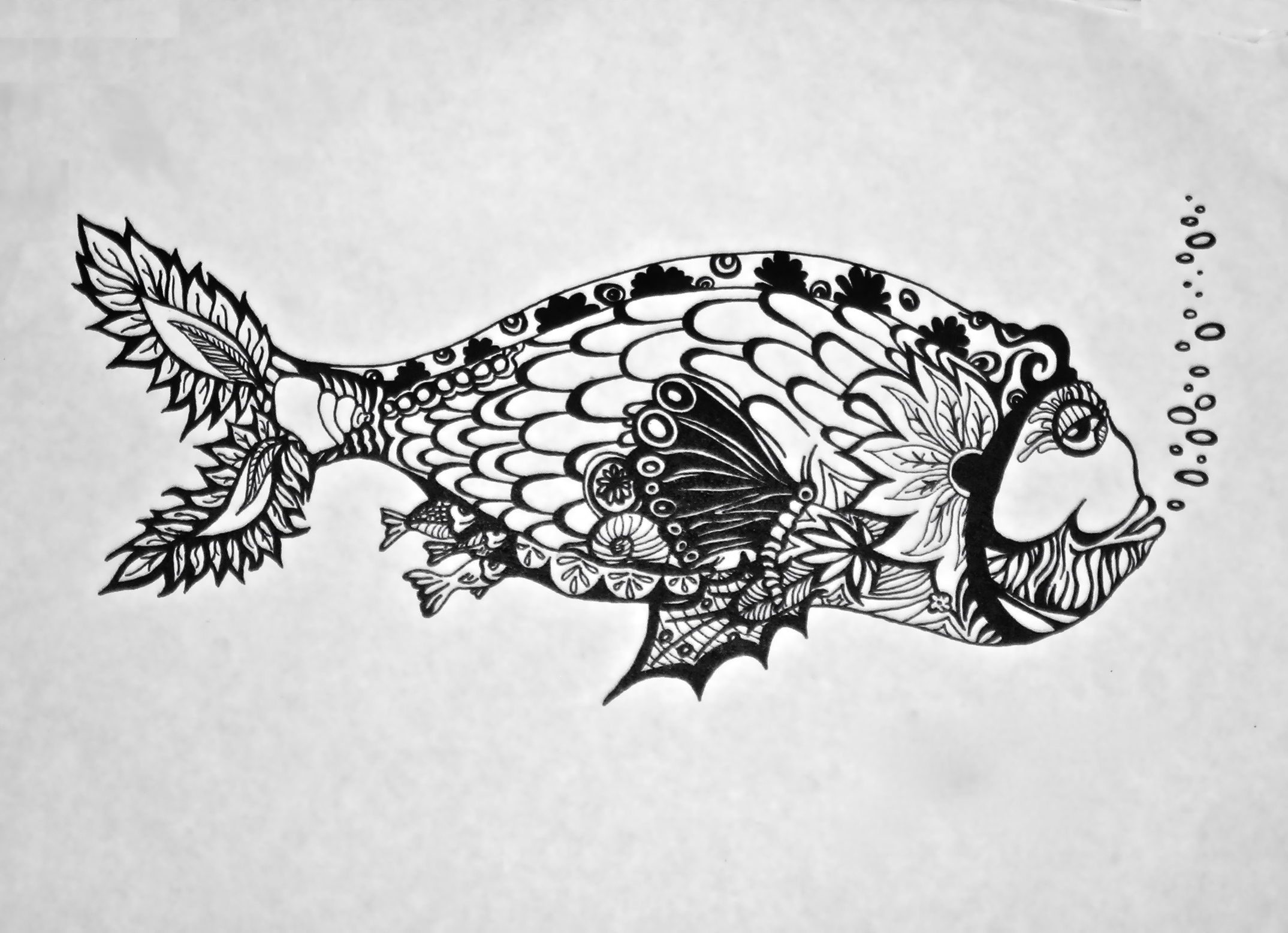 Pen And Ink Drawings