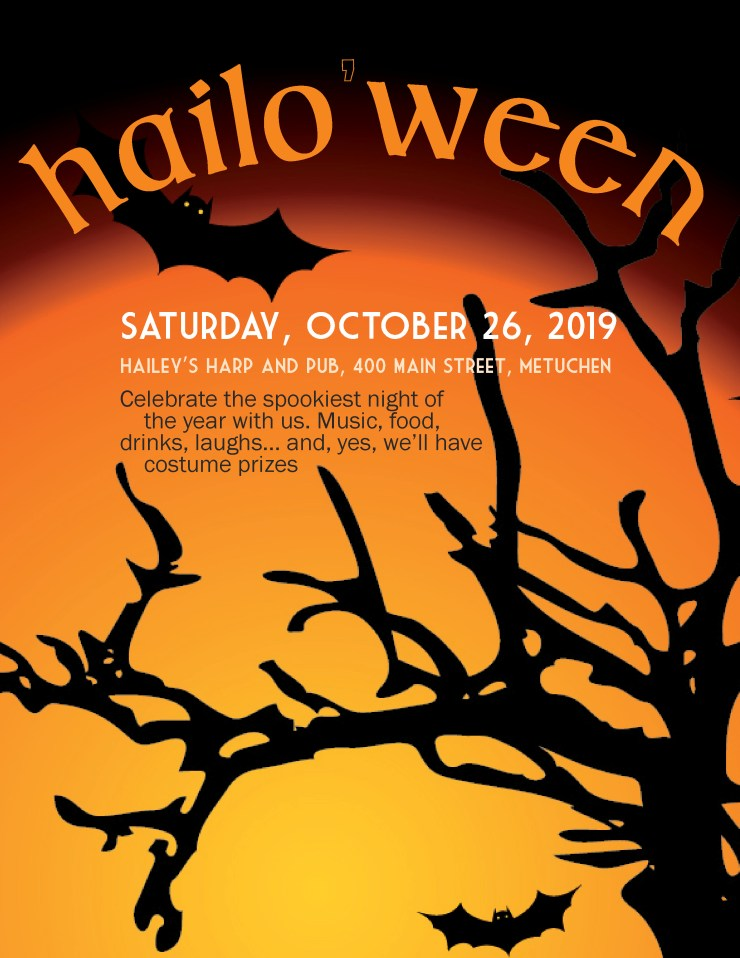Hailo'ween 2019 is October 26 at Hailey's Harp and Pub