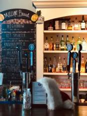 The Hangout at Hailey's Harp and Pub in Metuchen, a friendly and intimate bar at 15 Station Place, the only location serving Brainy Borough Brewing Company craft beers in New Jersey