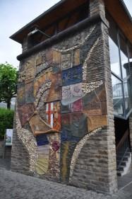 mosaic wall in Cochem