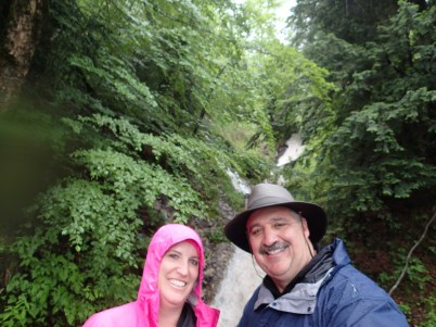 Waterfall selfieMERA