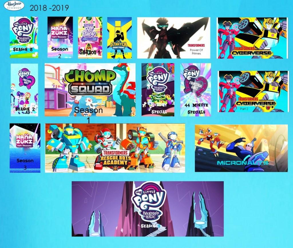 Hasbro Studios MLP:FIM spoiler poster for 2018