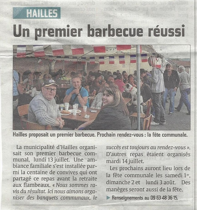 barbecue hailles