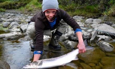 Haill&Knall TV: Prøvefiske i Reisaelva