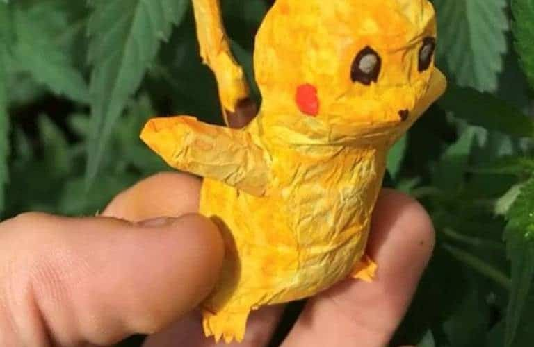 Moving Pikachu Superhero