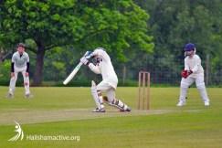 Hailsham Cricket Club in action