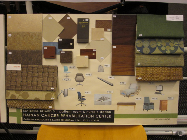 Interior Design Material Board 3 Hainan Cancer