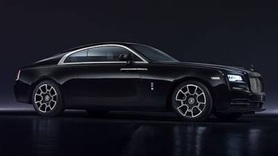 wraith black badge rolls royce 1