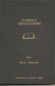 Famous Quotations (Dusheck)