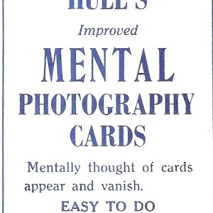 Mental Photography Cards