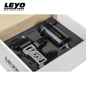 Leyo Motorsport Oil Catch Can Kit – VW Golf Mk7 GTI & Audi A3 8V 2.0T (Black)