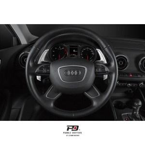 Leyo Motorsport Audi S Tronic Billet Paddle Shift Extension (Silver)(v1)