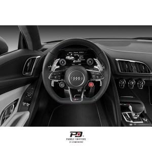 Audi S Tronic Billet Paddle Shift Extension (Silver)(v3)