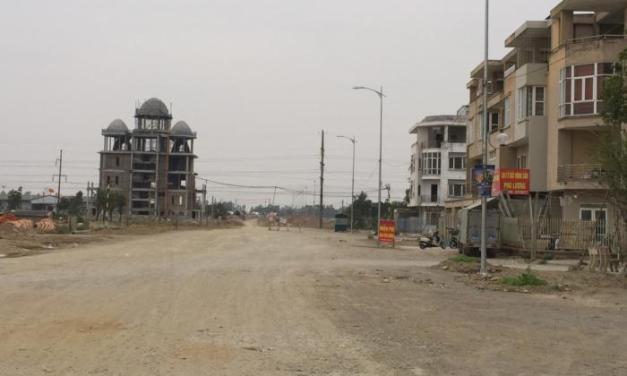 Tiến độ xây dựng dự án Khu đô thị mới Phú Lương ngày 10/02/2017