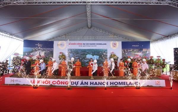 Hải Phát Thủ Đô khởi công dự án Hà Nội Homeland Long Biên