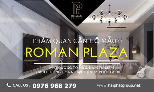 Dự án Roman Plaza Hải Phát (Shophouse + Biệt thự + Căn hộ đẳng cấp)