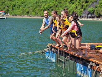 Lan Ha bay 2 day 1 night cruise tour