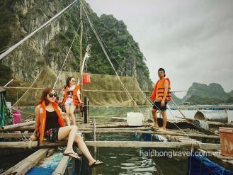 tra bau fishing village lan ha bay