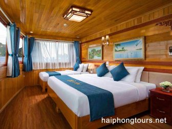 triple family room in La Paci cruise