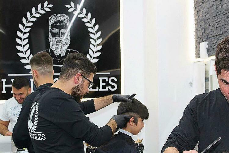 Unser Friseur-Team aus Pforzheim bei der Arbeit