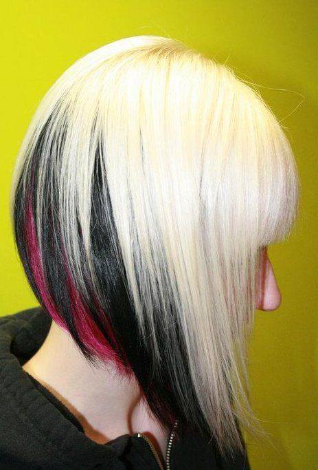 Black Ombre Blond Bob Hairstyles