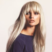 long straight blonde hairstyle