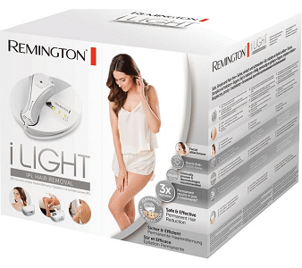 Remington Hair Removal iLIGHT IPL6780 box
