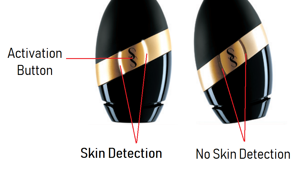 SmoothSkin Bare Activation Button & Skin Detection