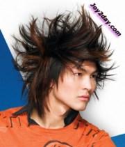 modern punk hair style men