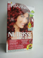 red ombr hair hairandflair