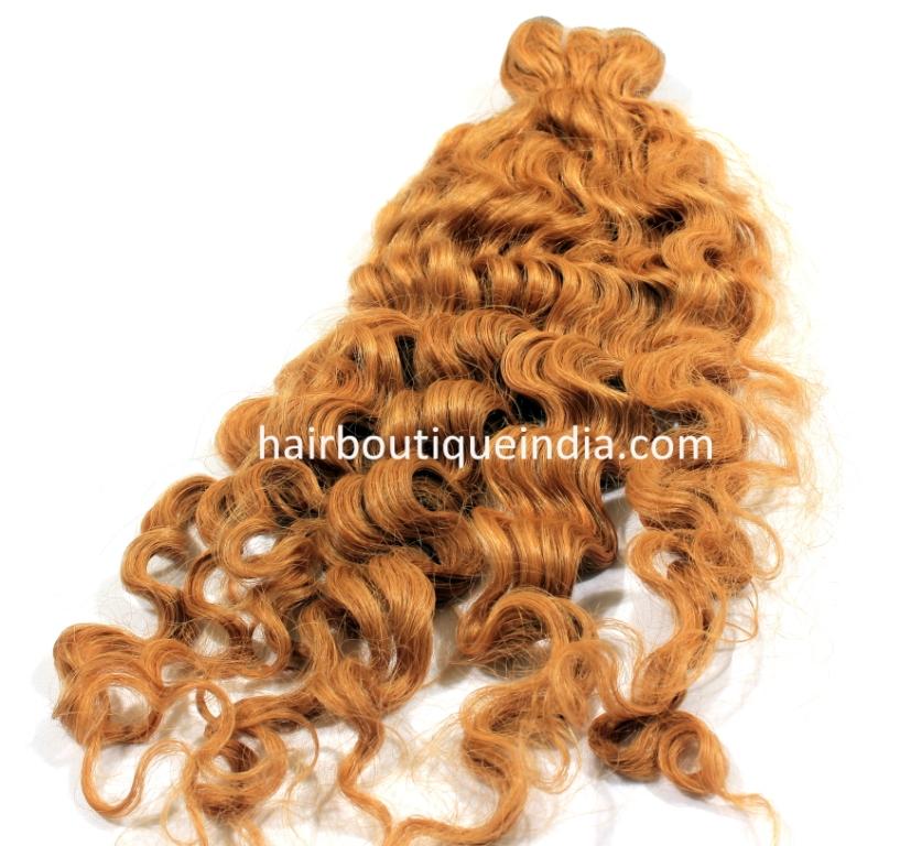 Blonde hair bundles with closures HD
