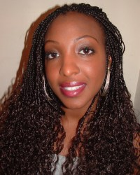 Wet And Wavy Micro Braids | Car Interior Design