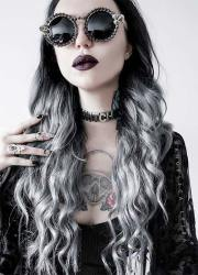 gorgeous and fun grey ombre