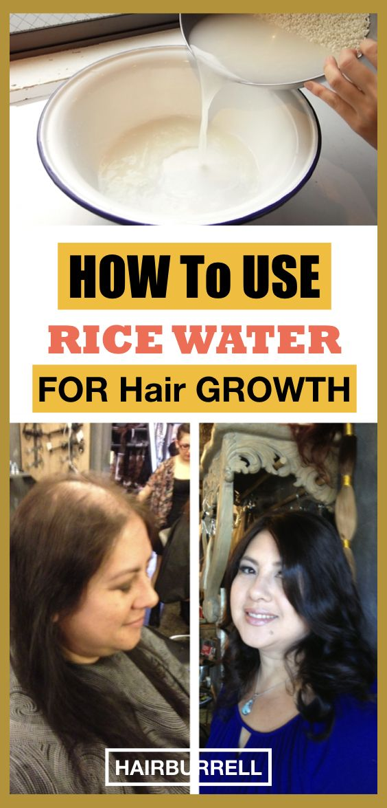 Using Rice Water For Hair