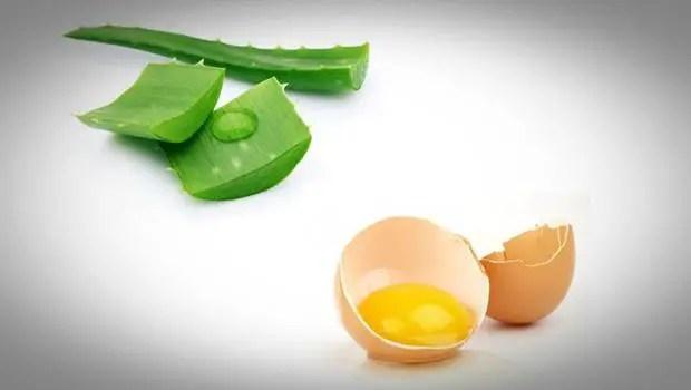 Aloe Vera And Eggs
