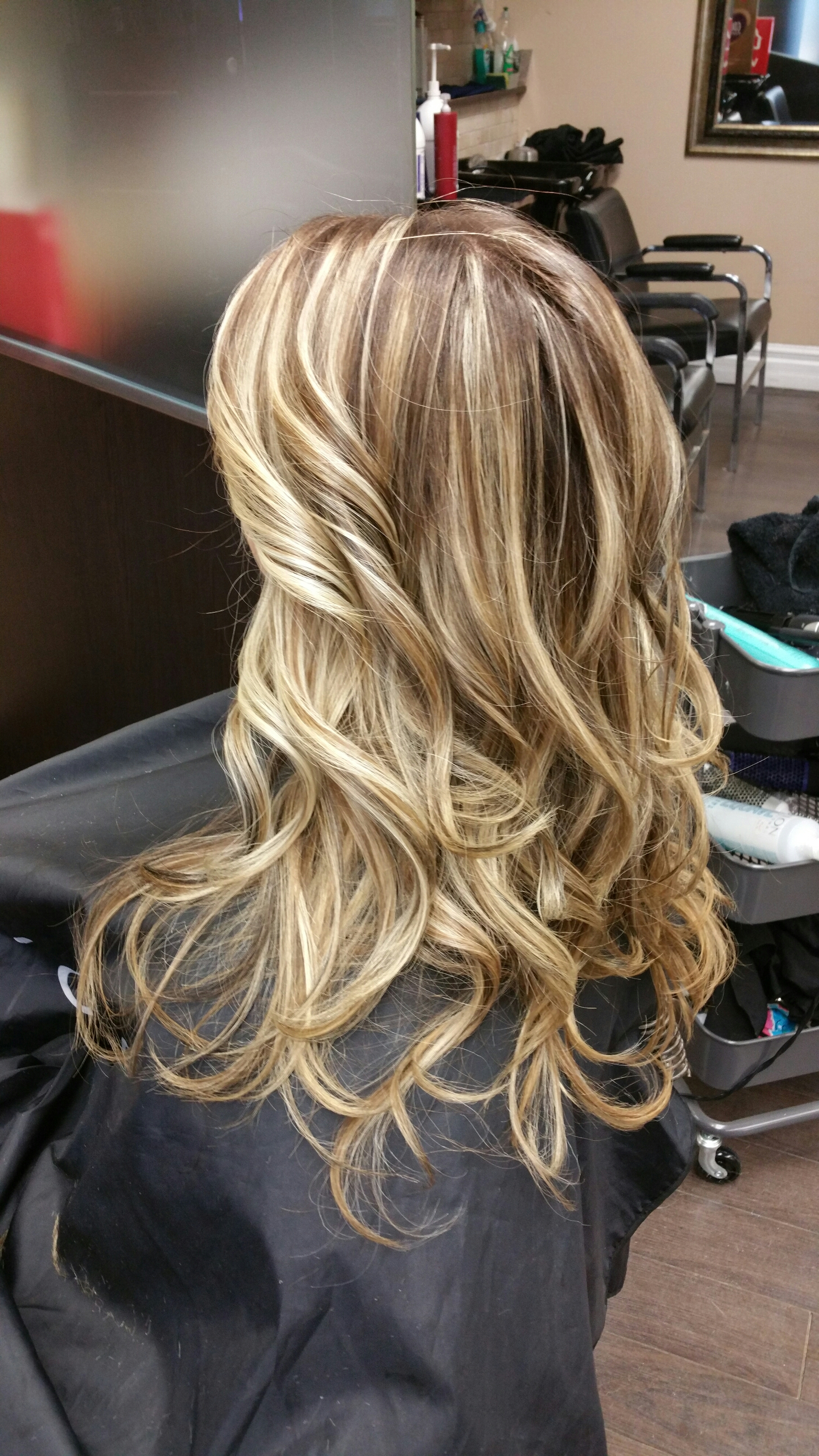 Balayage highlights and lowlights  hairbysam