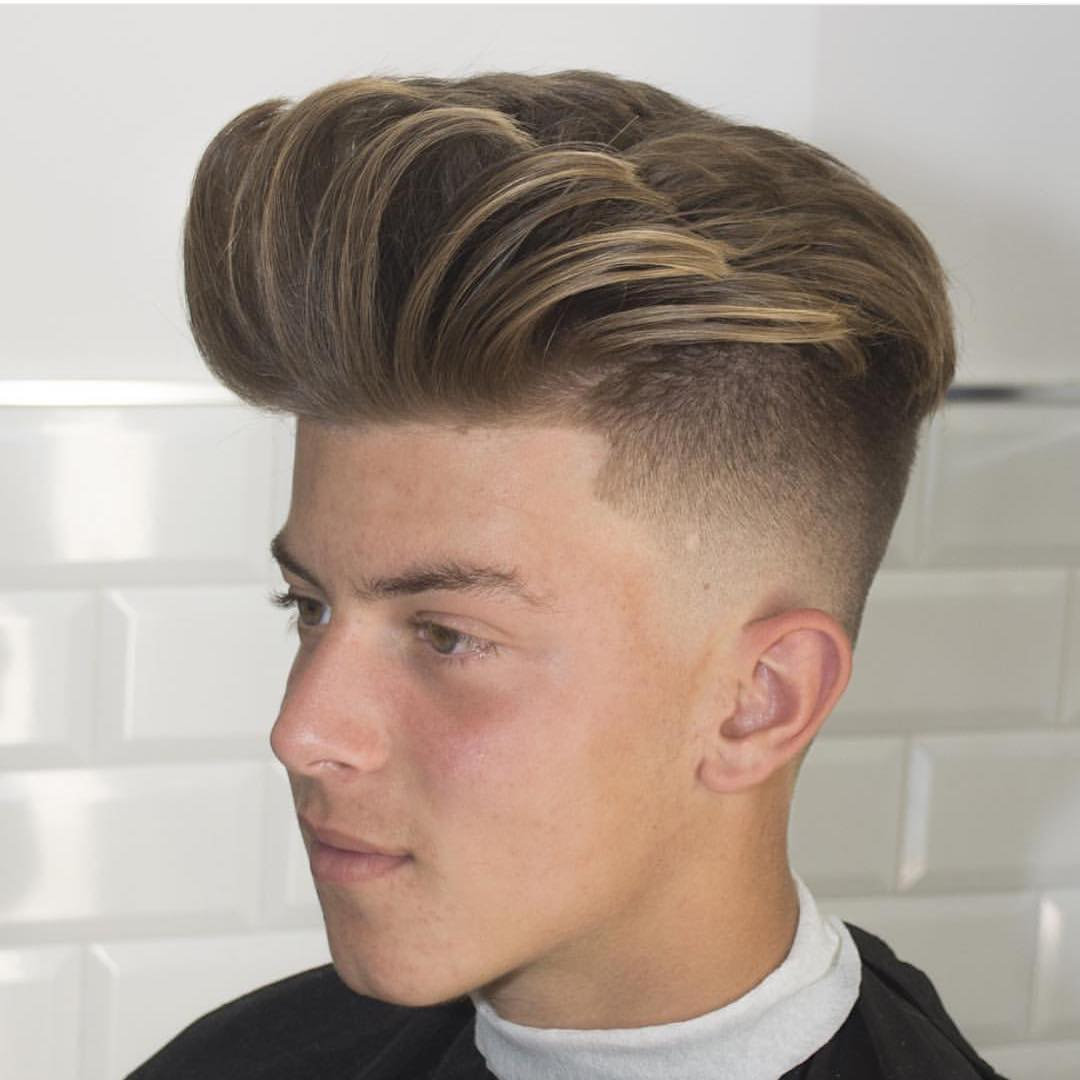 Hairstyles For Diamond Faces  Fade Haircut