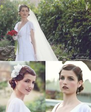 1920s hair and makeup