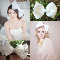 wedding hair bows trend alert bridal hair bows hair comes ...