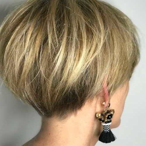 Back-View-1 Best Messy Short Hairstyles Ideas for 2019