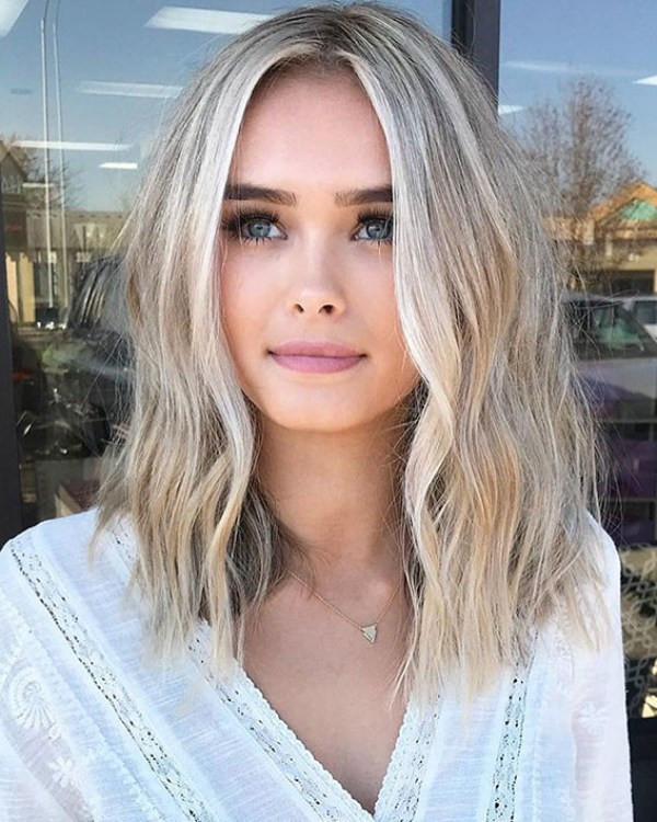 Blonde-Short-Hairstyle Hot Short Hairstyles for Women in 2019