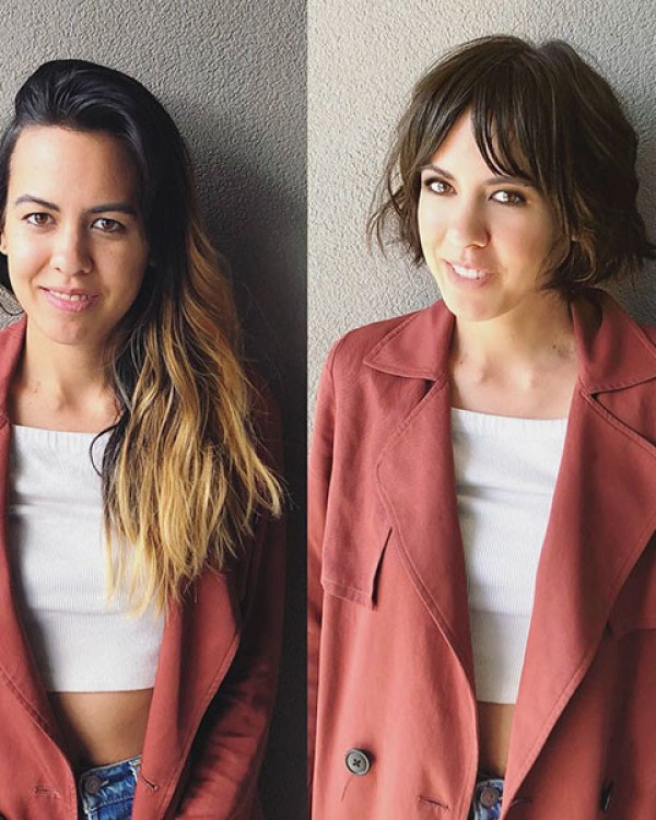 French-Short-Haircut New Cute Hairstyles for Short Hair 2019